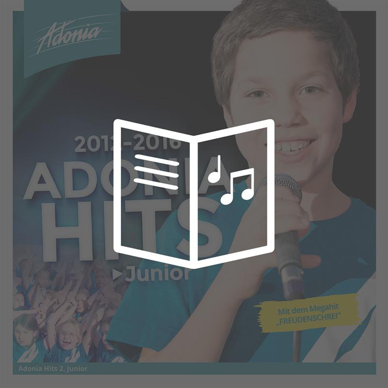 Liederheft - Adonia Hits 2 (Junior)