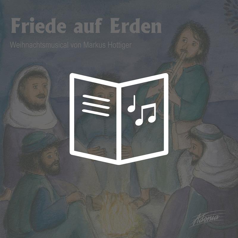 Lieder- und Textheft - Friede auf Erden