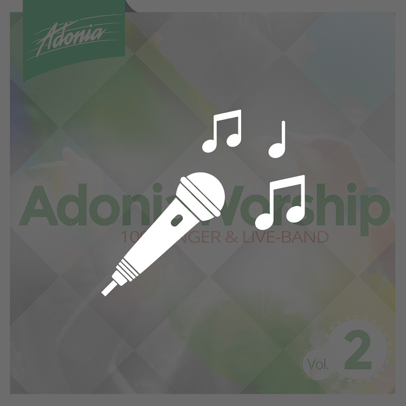 Playback-CD - Adonia Worship Vol.2