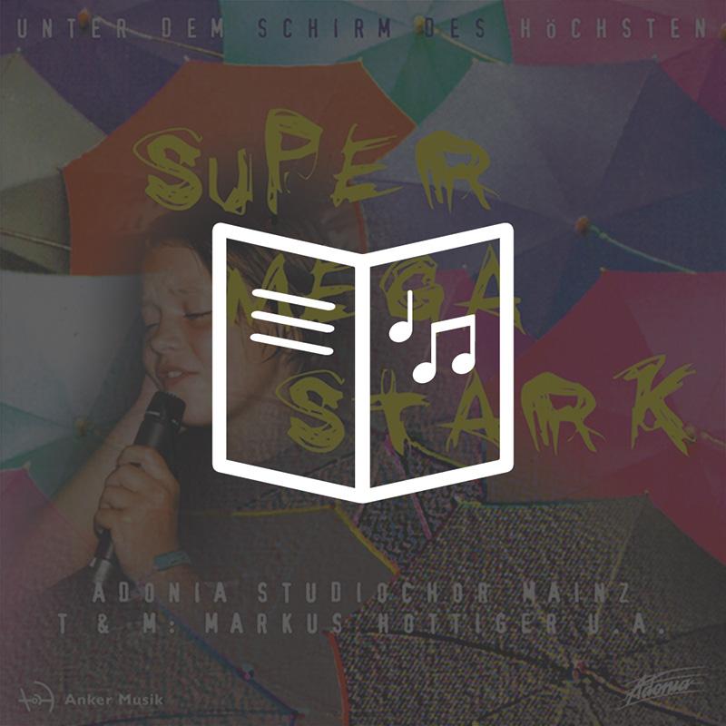 Lieder- und Textheft - Supermegastark