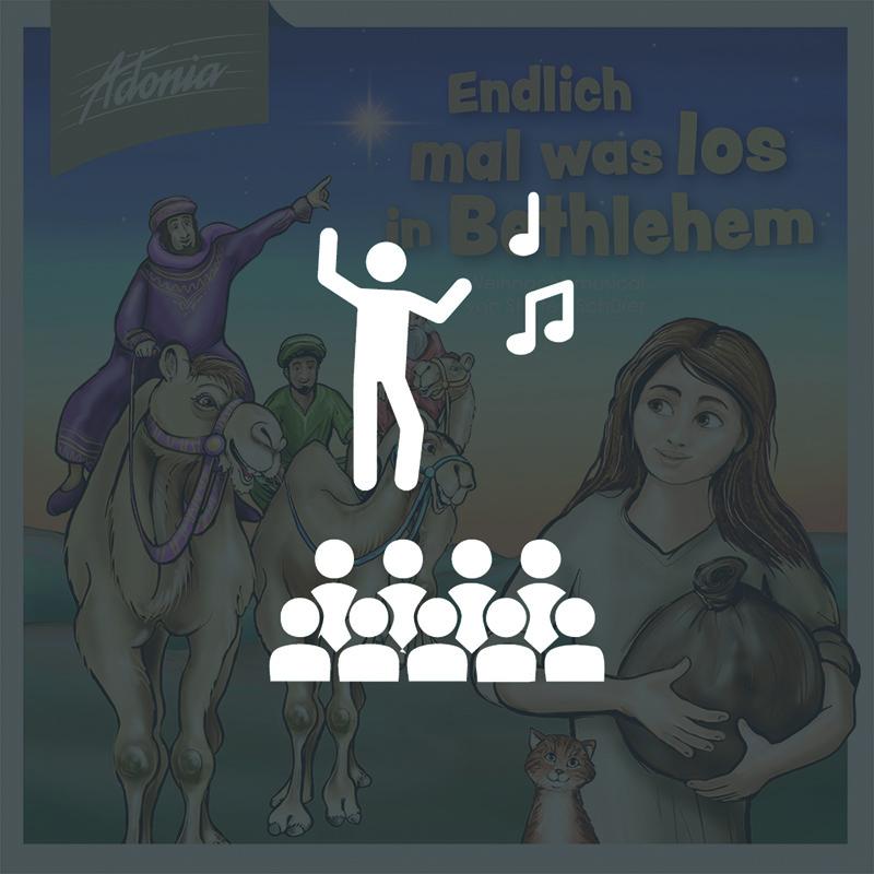 Aufführungsrecht - Endlich mal was los in Bethlehem
