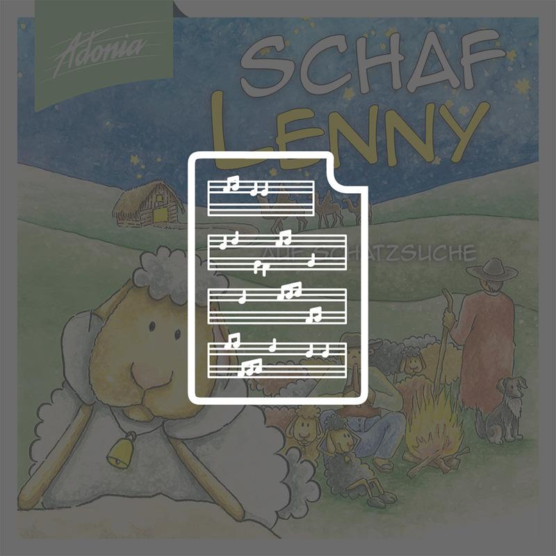 Noten - Schaf Lenny