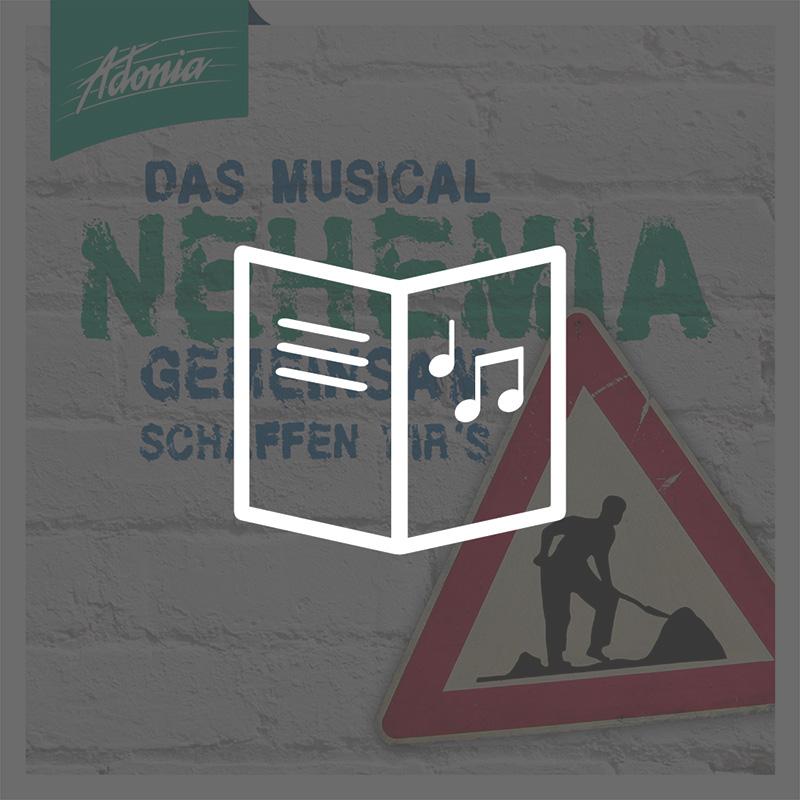 Lieder- und Textheft - Nehemia
