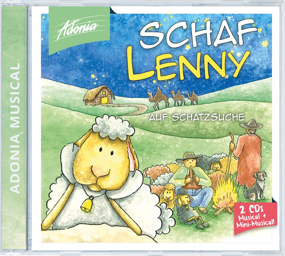 Doppel-CD - Schaf Lenny