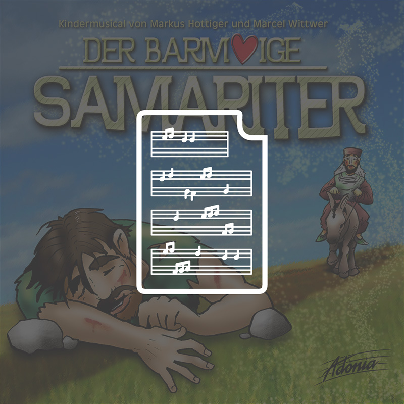 Noten - Der barmherzige Samariter