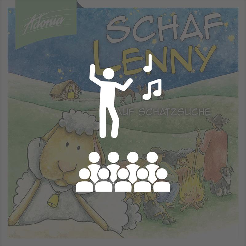Aufführungsrecht - Schaf Lenny