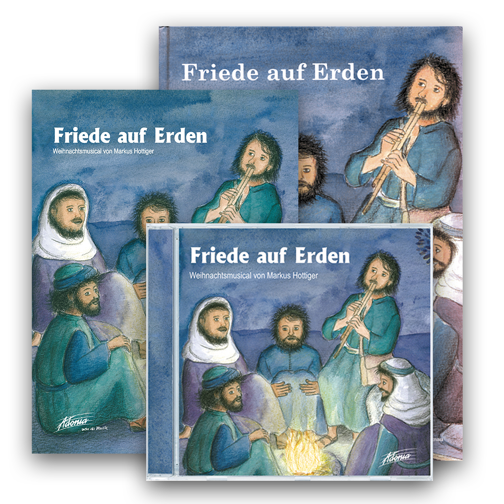 Sparset (CD, BB, LB) - Friede auf Erden