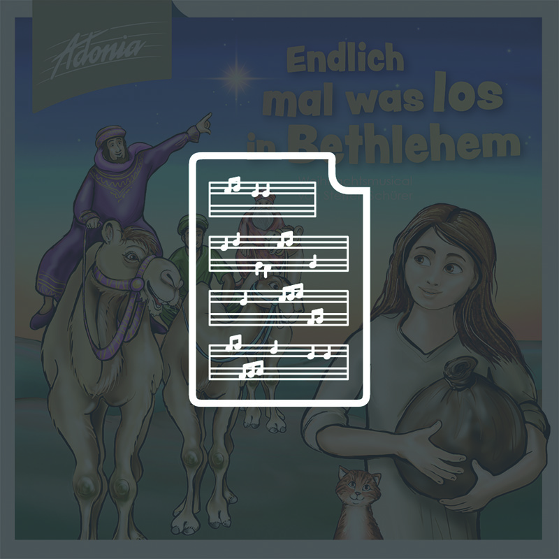 Noten - Endlich mal was los in Bethlehem