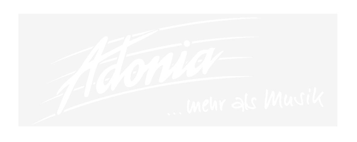 Aufkleber Adonia transparent