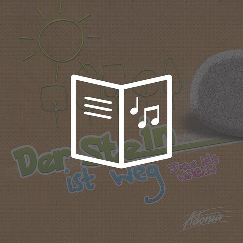 Lieder- und Textheft - Der Stein ist weg