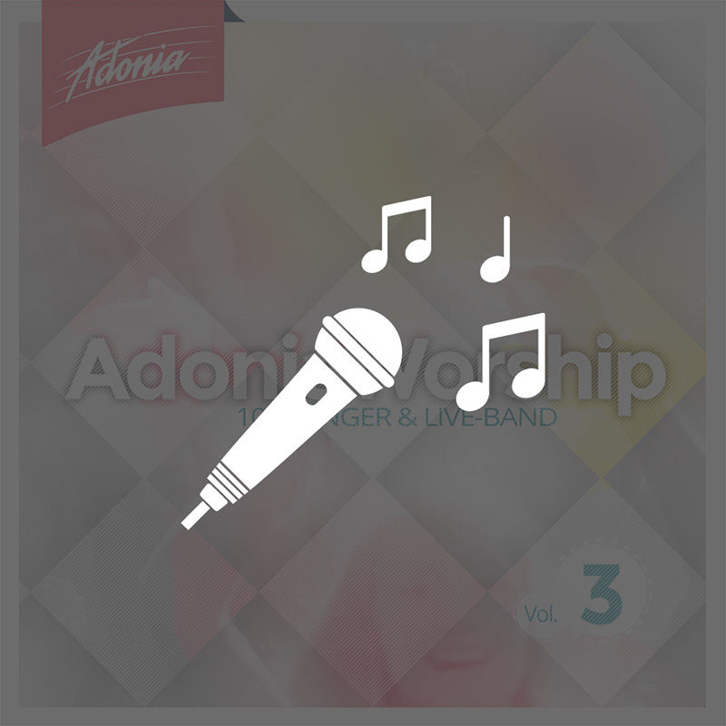 Playback-CD - Adonia Worship Vol.3