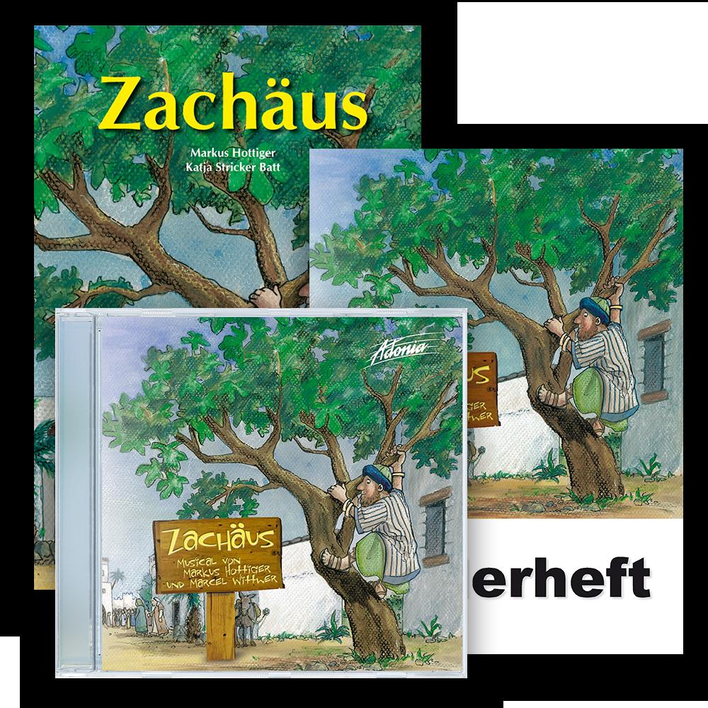 Sparset (CD, BB, LB) - Zachäus