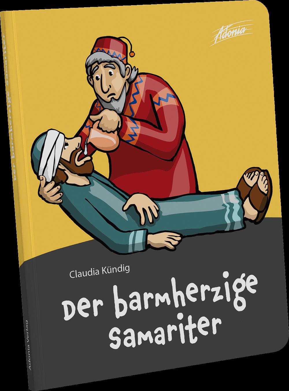 Der barmherzige Samariter - Bilderbuch