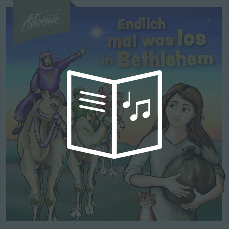 Lieder- und Textheft - Endlich mal was los in Bethlehem