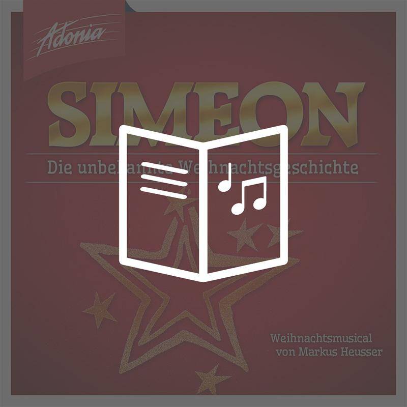 Lieder- und Textheft - Simeon