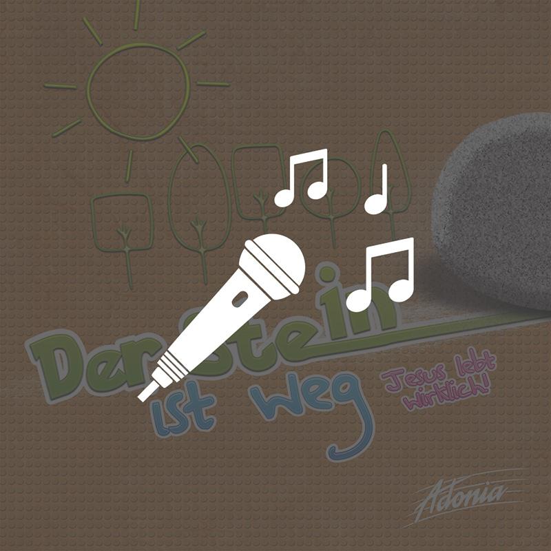 Playback-CD - Der Stein ist weg