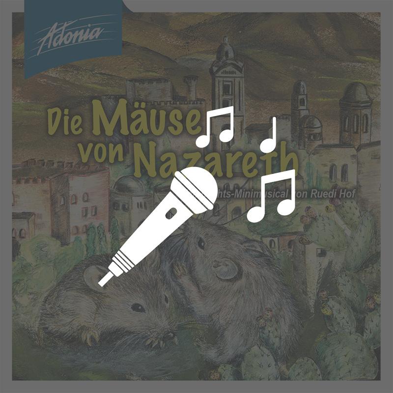 Playback-CD - Die Mäuse von Nazareth