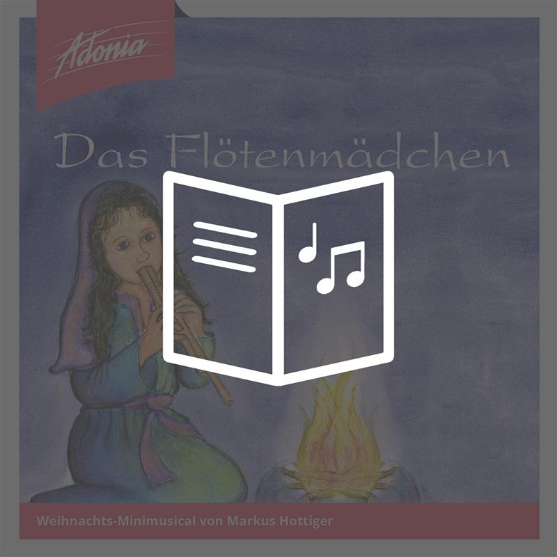 Lieder- und Textheft - Das Flötenmädchen