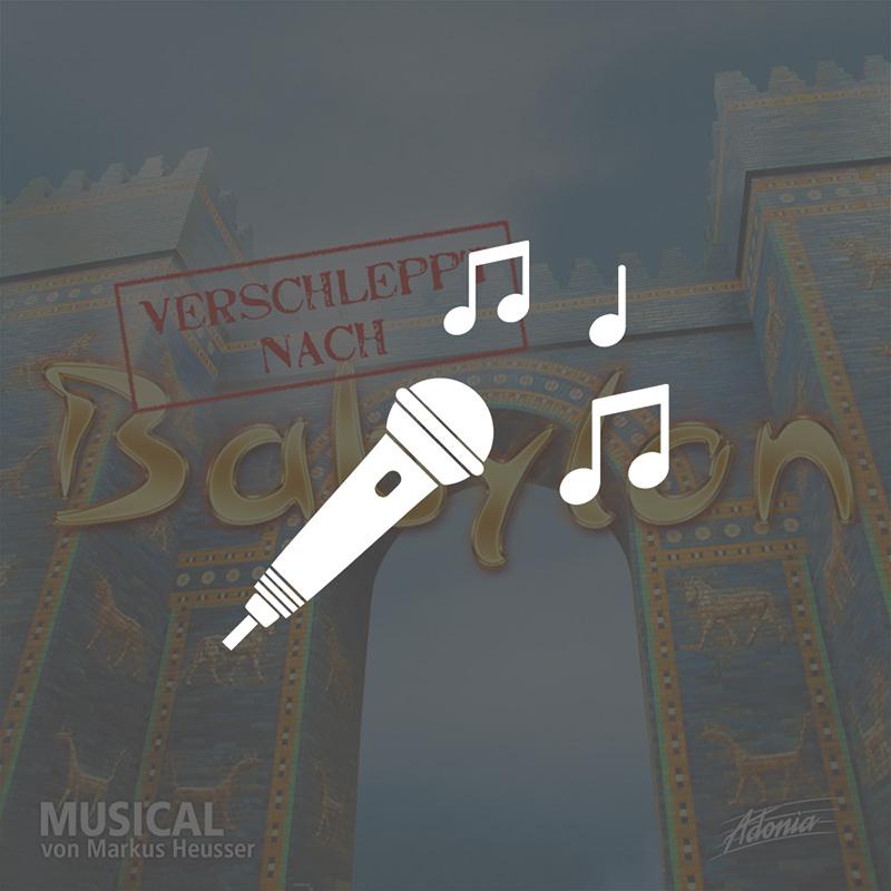 Playback-CD - Verschleppt nach Babylon