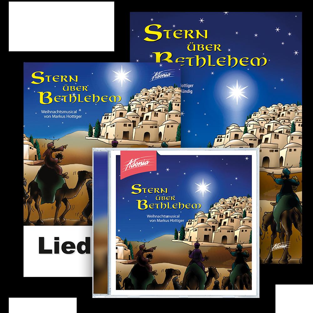 Sparset (CD, BB, LB) - Stern über Bethlehem