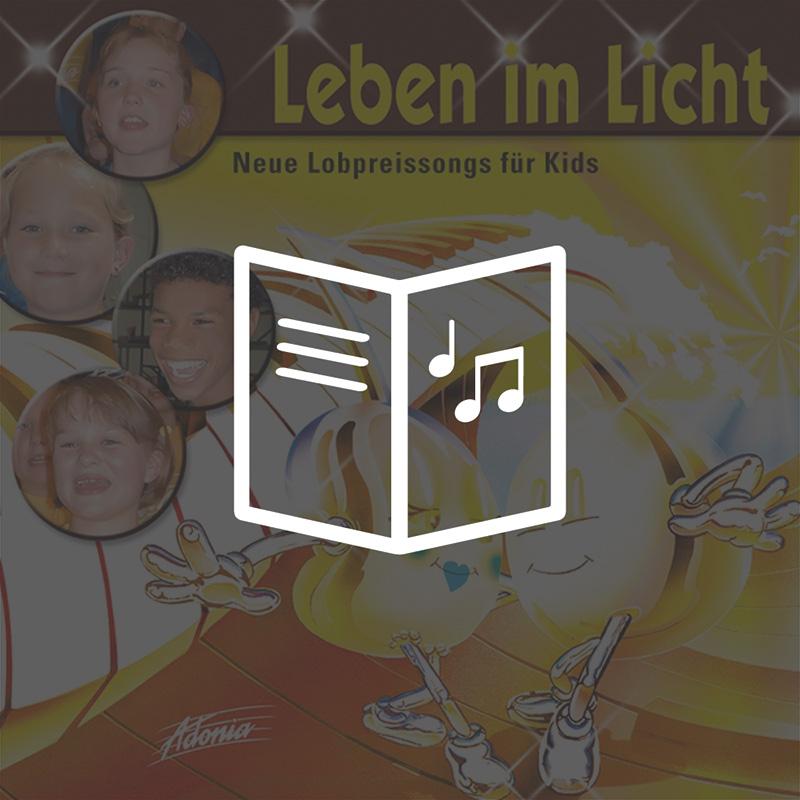 Lieder- und Textheft - Leben im Licht