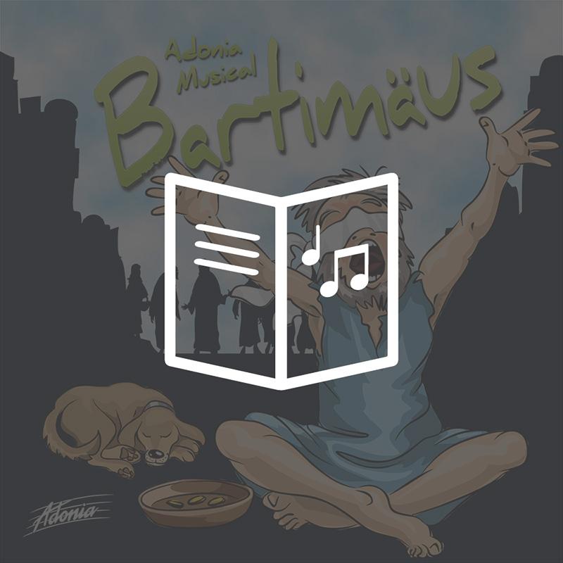 Lieder- und Textheft - Bartimäus