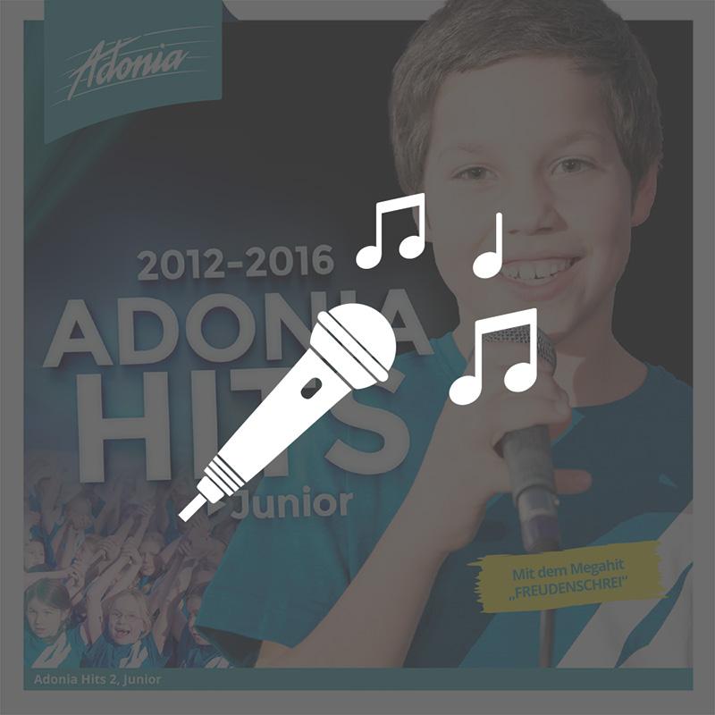 Playback-CD - Adonia Hits 2 (Junior)