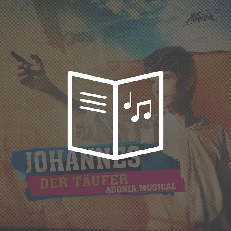 Lieder- und Textheft - Johannes der Täufer