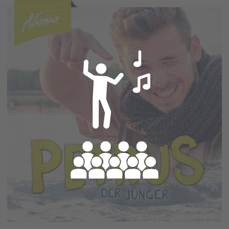 Aufführungsrecht - Petrus - der Jünger