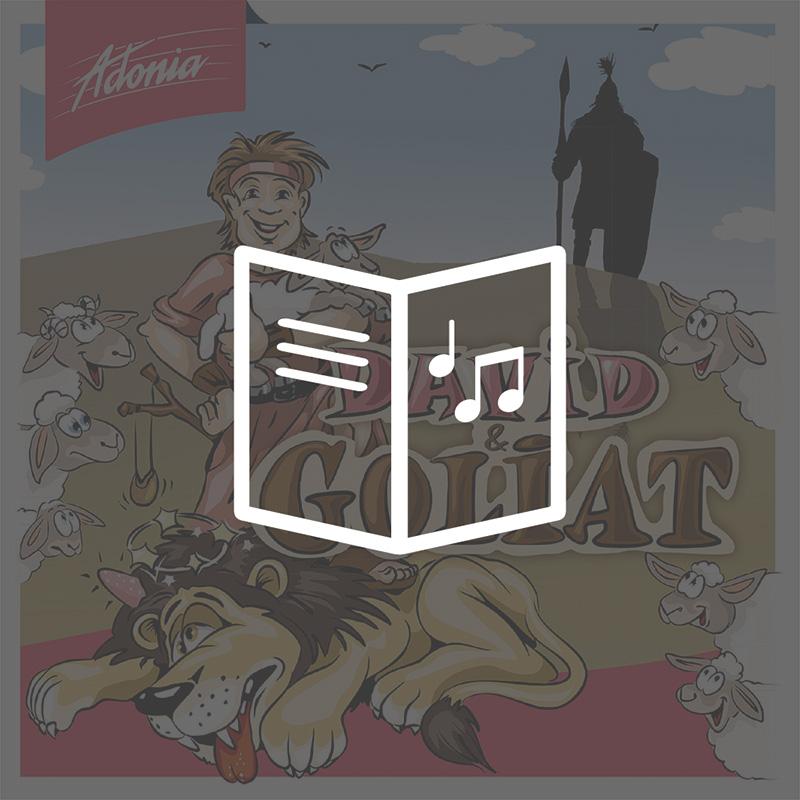 Lieder- und Textheft - David & Goliat