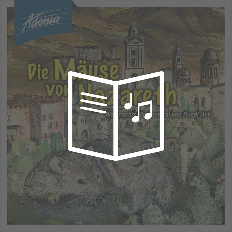 Lieder- und Textheft - Die Mäuse von Nazareth