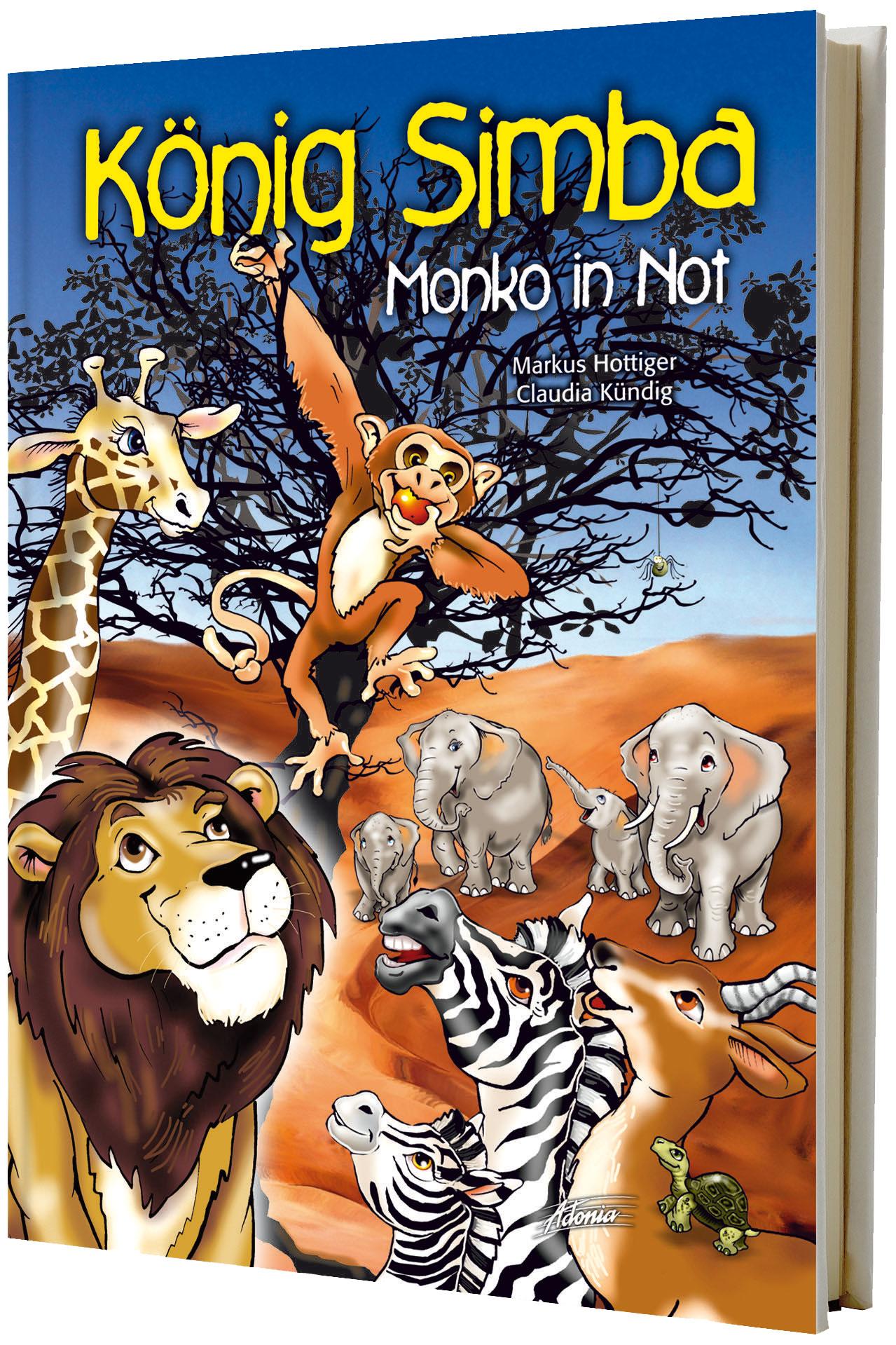 König Simba 1 - Monko in Not