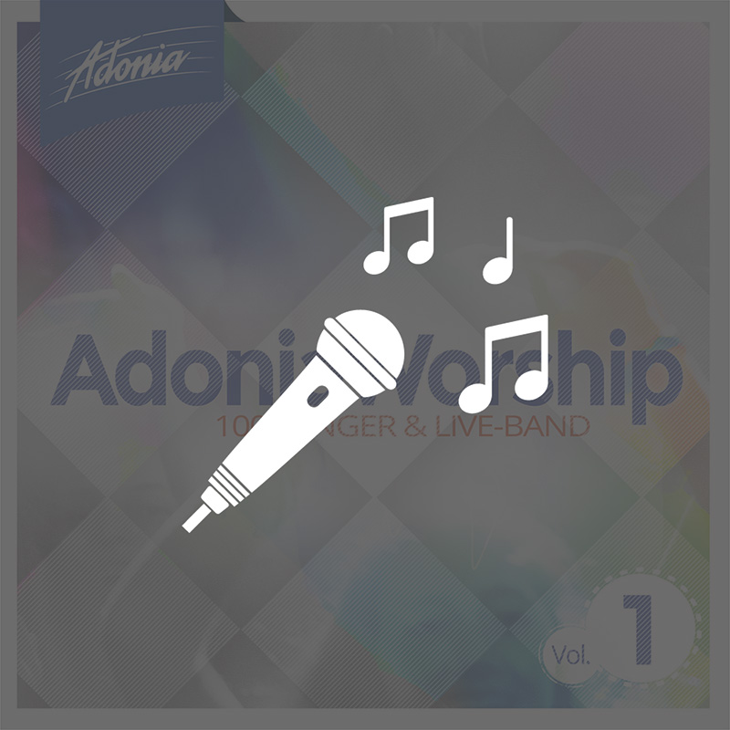 Playback-CD - Adonia Worship Vol.1