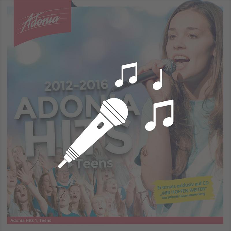 Playback-CD - Adonia Hits 1 (Teens)
