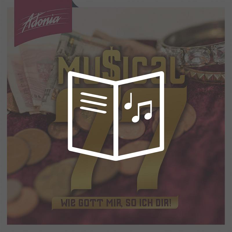 Lieder- und Textheft - Musical 77