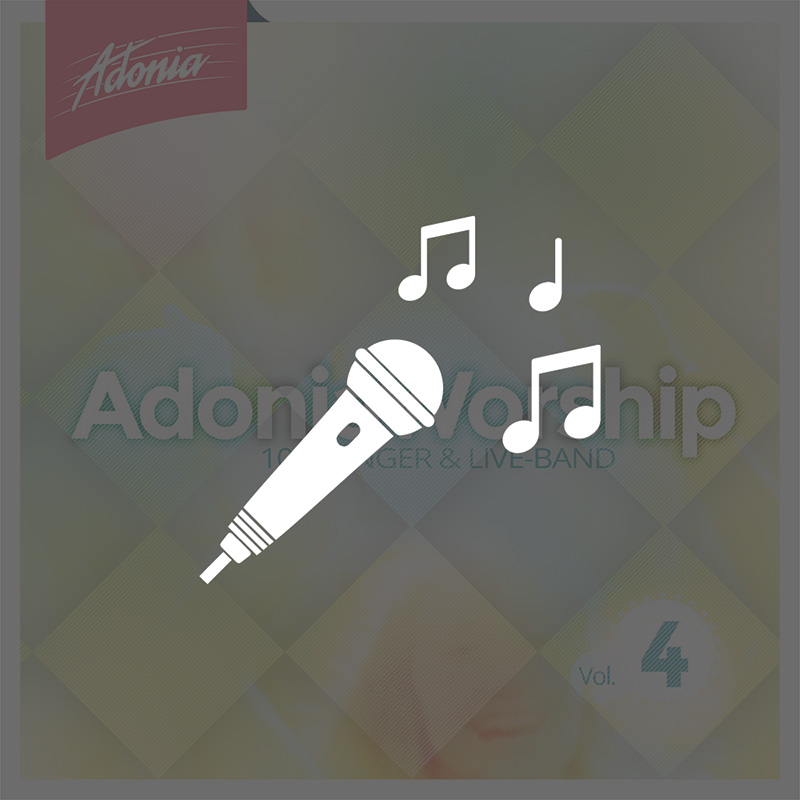 Playback-CD - Adonia Worship Vol.4