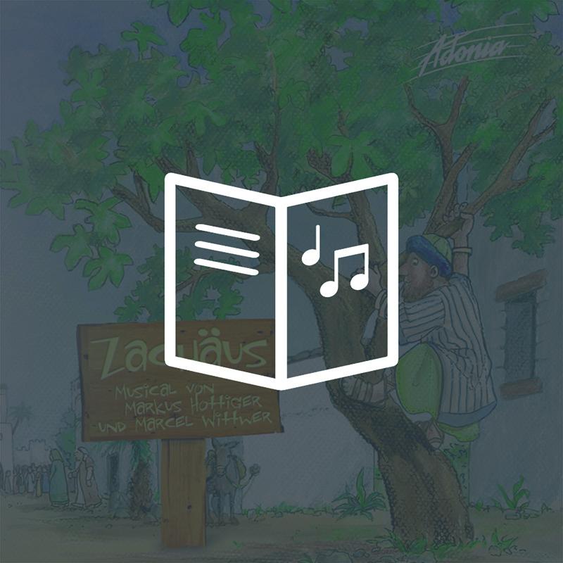 Lieder- und Textheft - Zachäus