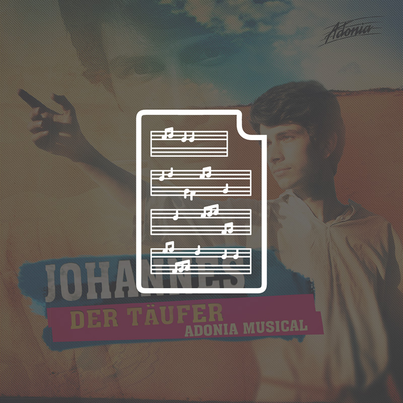 Noten - Johannes der Täufer